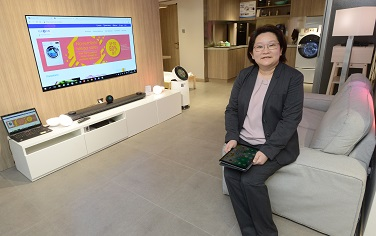 中電客戶及業務拓展部高級總監劉麗娜盼望,中電成為智能生活理念的重要推手。