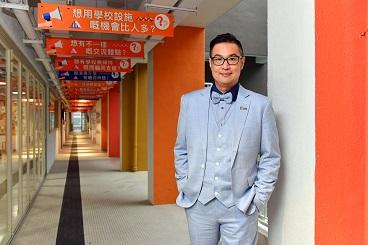 香港專業進修學院(港專)國際教育中心副總監謝鋮浚。